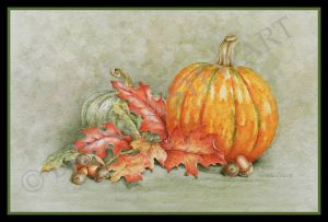 Autumn Hues Watercolor