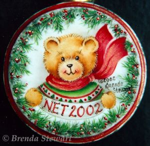 Christmas Bear Ornament E-Packet