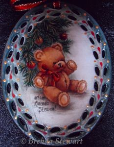 Christmas Charmer Teddy E-Packet