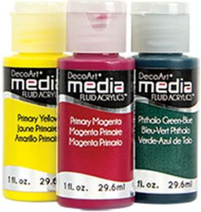 60% OFF SALE DecoArt Media Fluid Acrylic Paints