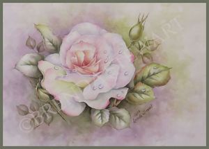 Hiroki's Rose Watercolor E-Tutorial