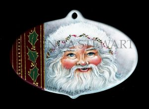 Saint Nick Ornament E-Tutorial