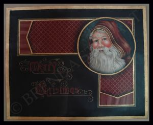 Santa Floor Cloth