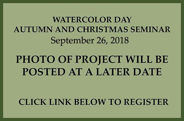 September - September Watercolor Class