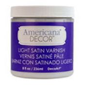 Americana Decor Light Satin Varnish 8 oz.